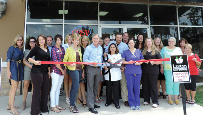 Congratulations to the St. Tammany businesses who celebrated ribbon cuttings this month: Layton Family Pharmacy on Highway 21 Covington.
