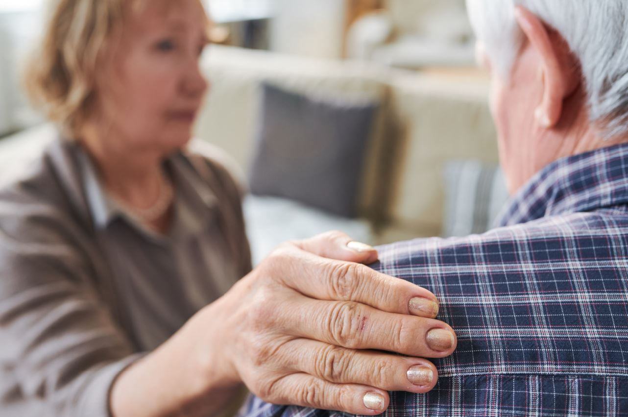Caregivers need to consider their own health as important as their spouse