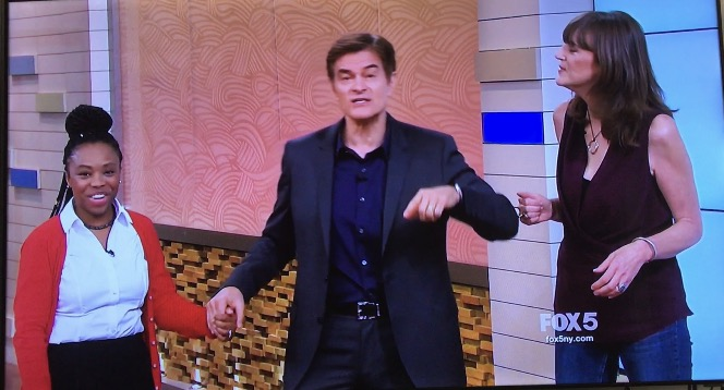 What I Learned About Fear During The Dr.Oz Show