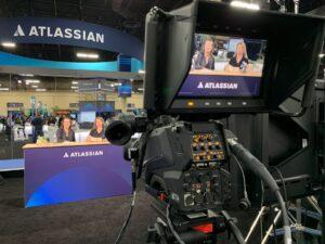 Atlassian TV at the Atlassian Summit 2019