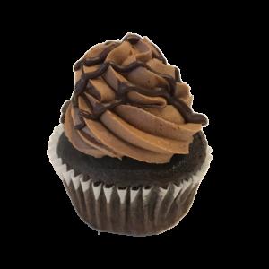 Vegan Chocolate Cupcakes with Vegan Chocolate Frosting and Vegan Chocolate Ganache