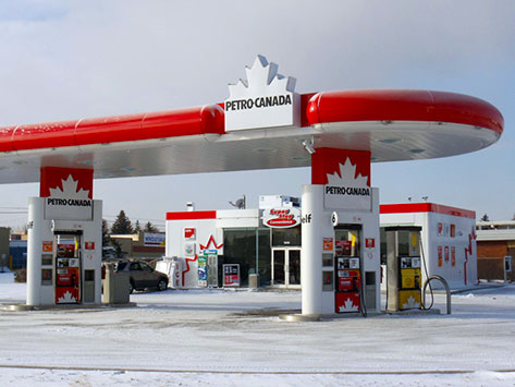 Petro Canada, Gas and Pipe Fitting