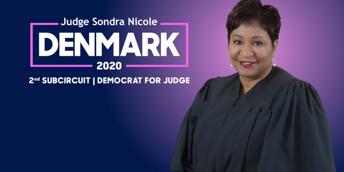 Sondra Nicole Denmark for Judge of the 2nd Subcircuit 2020