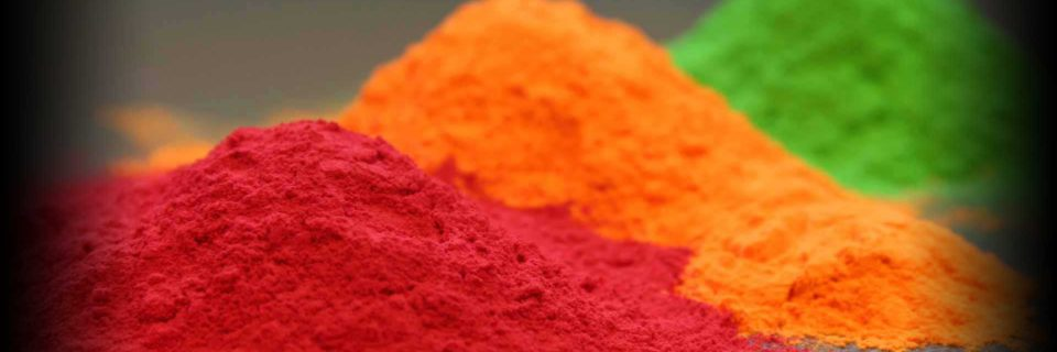We have a great selection of powders to choose from and are able to color match any sample.