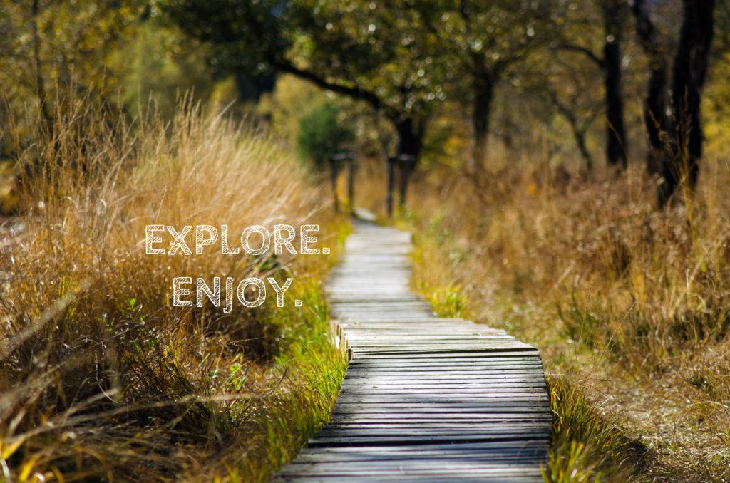 explore enjoy