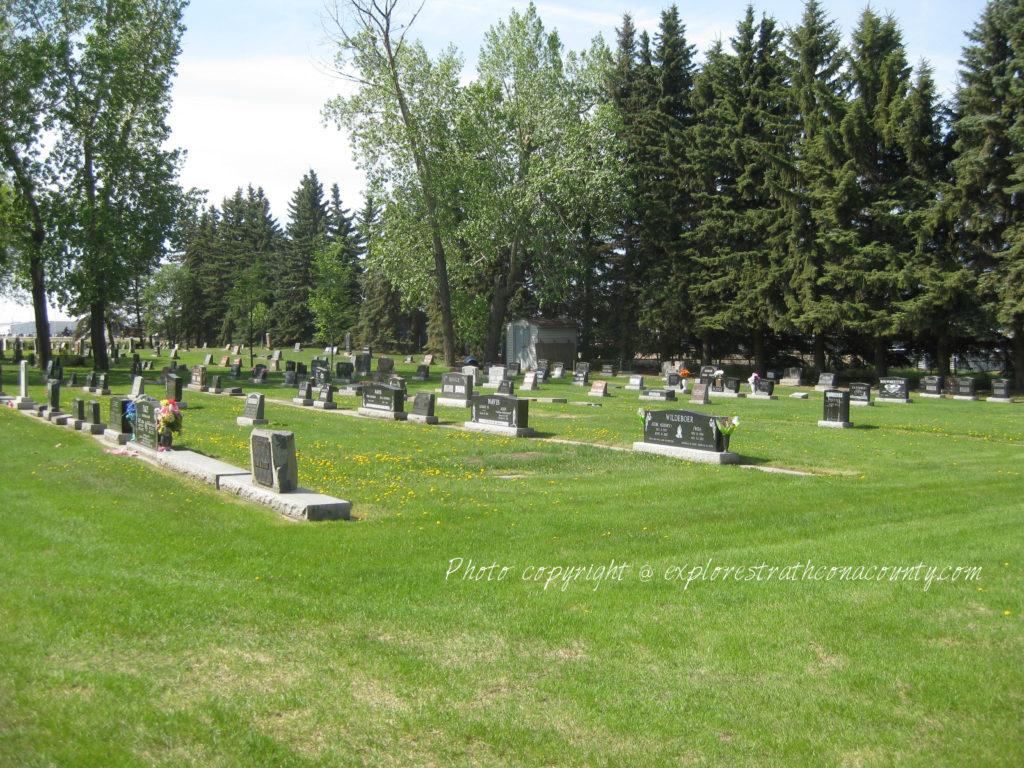 Cloverbar Cemetery Sherwood Park