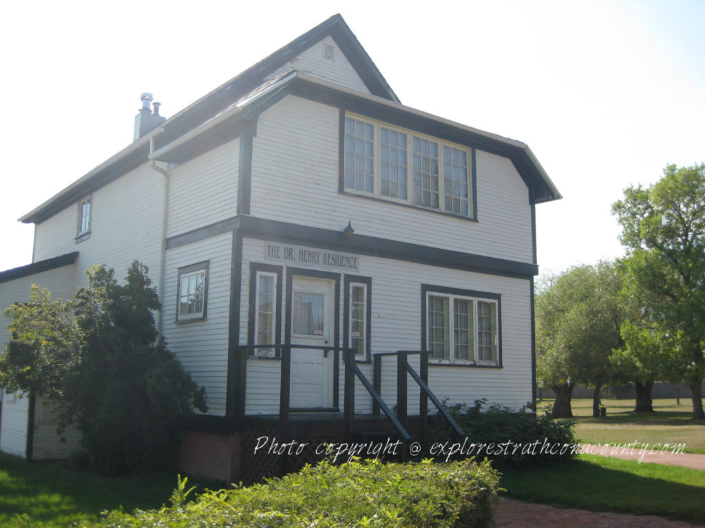 Dr Henry House Fort Saskatchewan