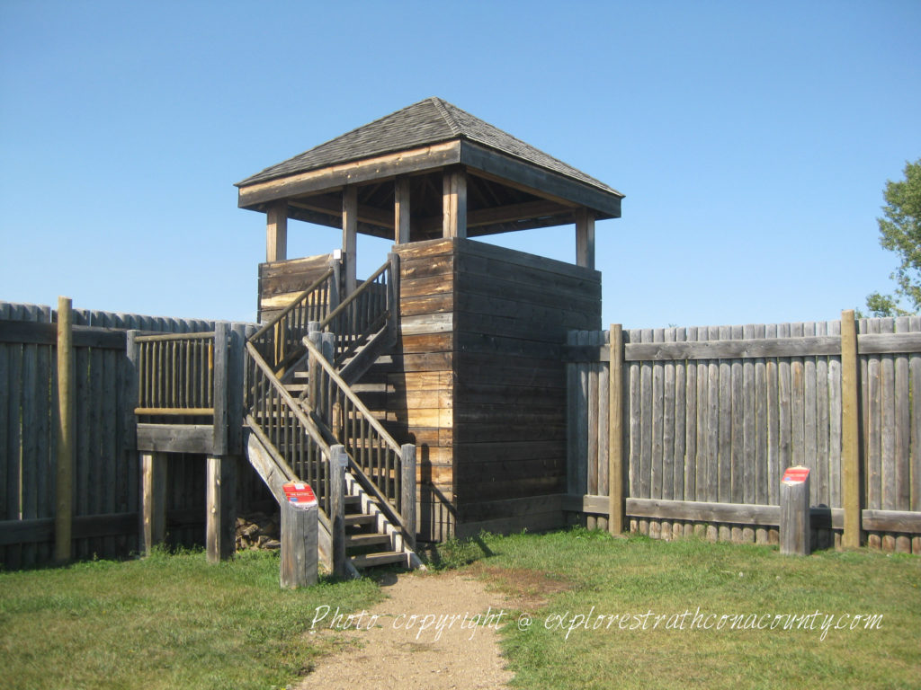 Fort Saskatchewan NWMP Fort