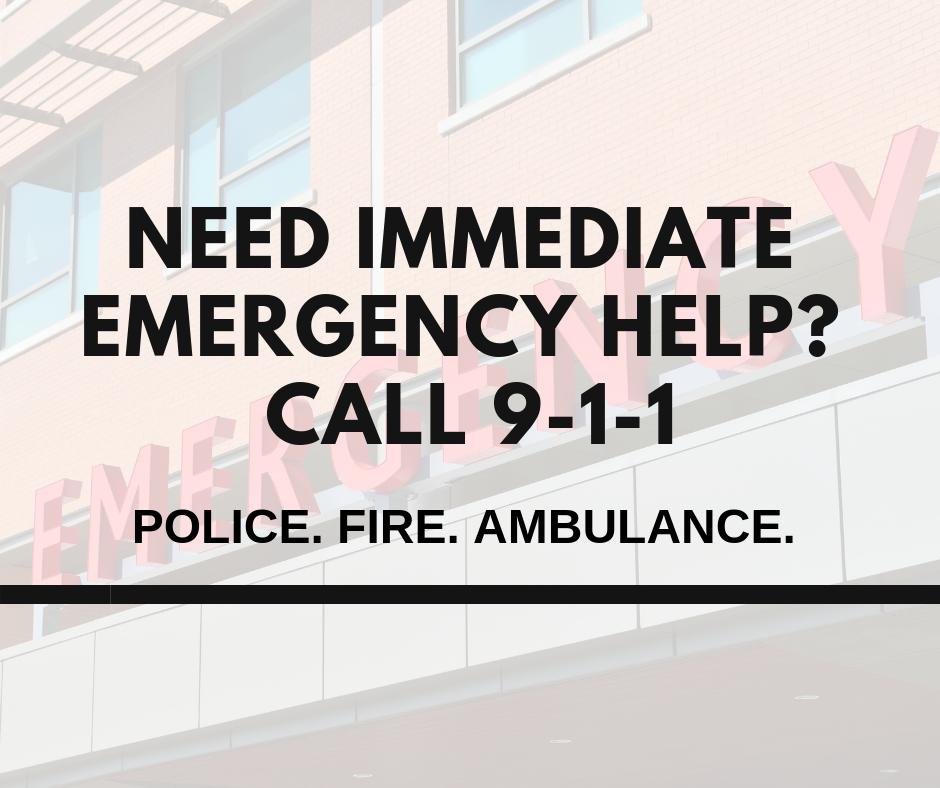 Need emergency help