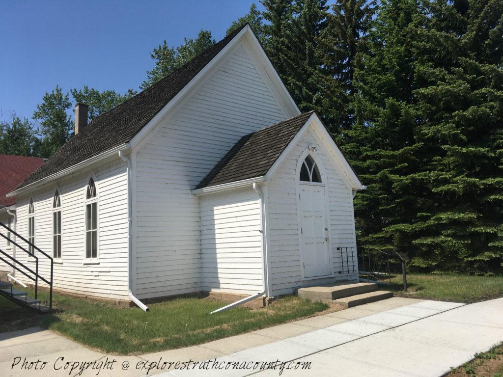 white historic Church