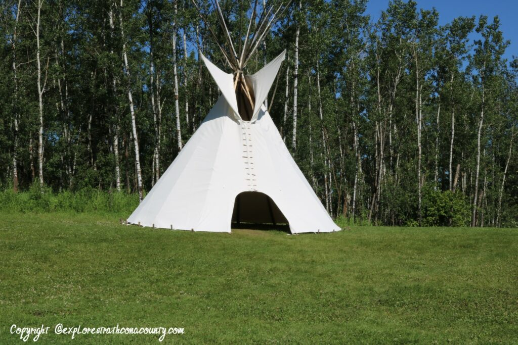 Teepee at Elk Island - July 2019