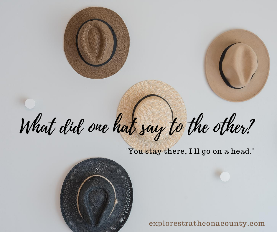 Dad joke about hats