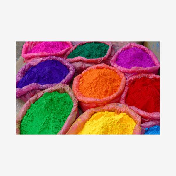 Holi Festival Dyes, India