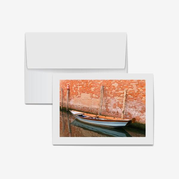 Teak Boat, Venice, Italy