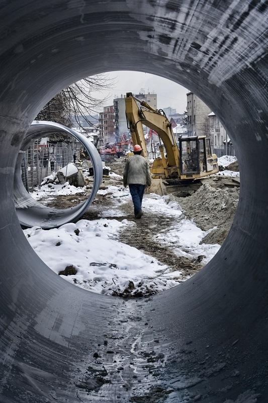 Construction Site Worker building street art4 L com