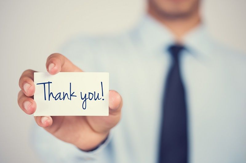 Breaking Down A Job Interview Thank You Note