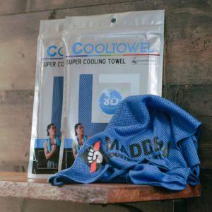 Temperature altering sweat absorber