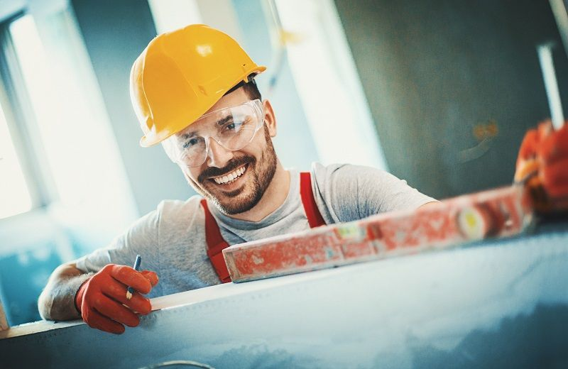 Cheerful-construction-worker