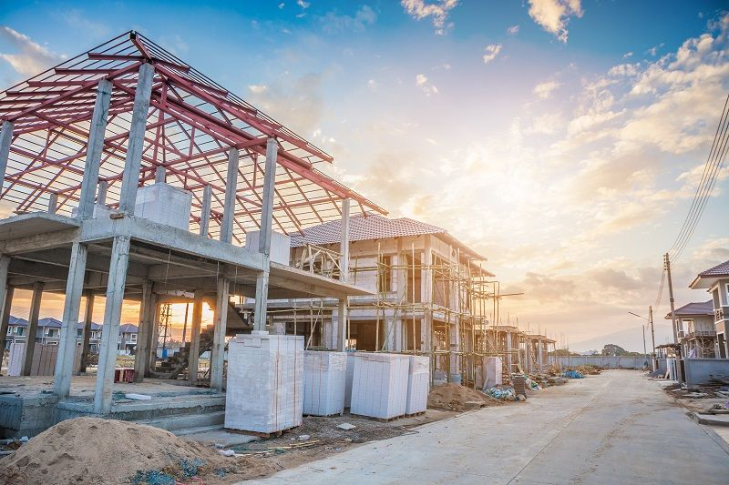 construction-residential-new-house-in-progress-at-building-site