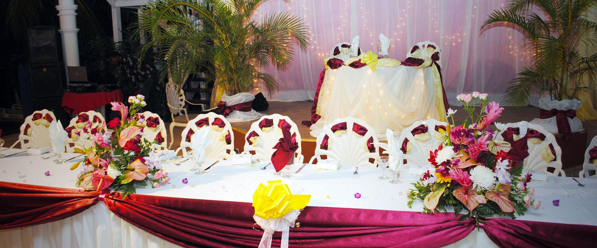 Wedding Reception by Faithful Wedding Services