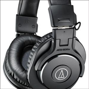 Audio-Technica ATH-M30x Studio Monitor Headphones