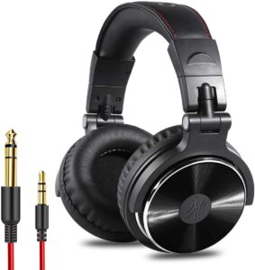 OneOdio Adapter-Free Closed Back Over Ear DJ Stereo Monitor Headphones