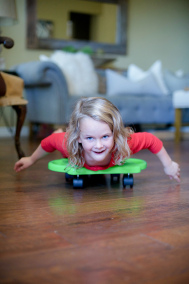 sensory spaces girl on skateboard