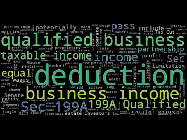 income deduction