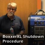 Boxxer XL shutdown