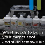 carpet spot and stain removal