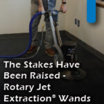 stakes raised rotary jet extraction wands