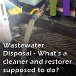 waste water disposal