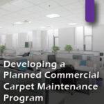 Developing a maintenance program