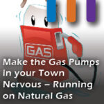 running on natural gas