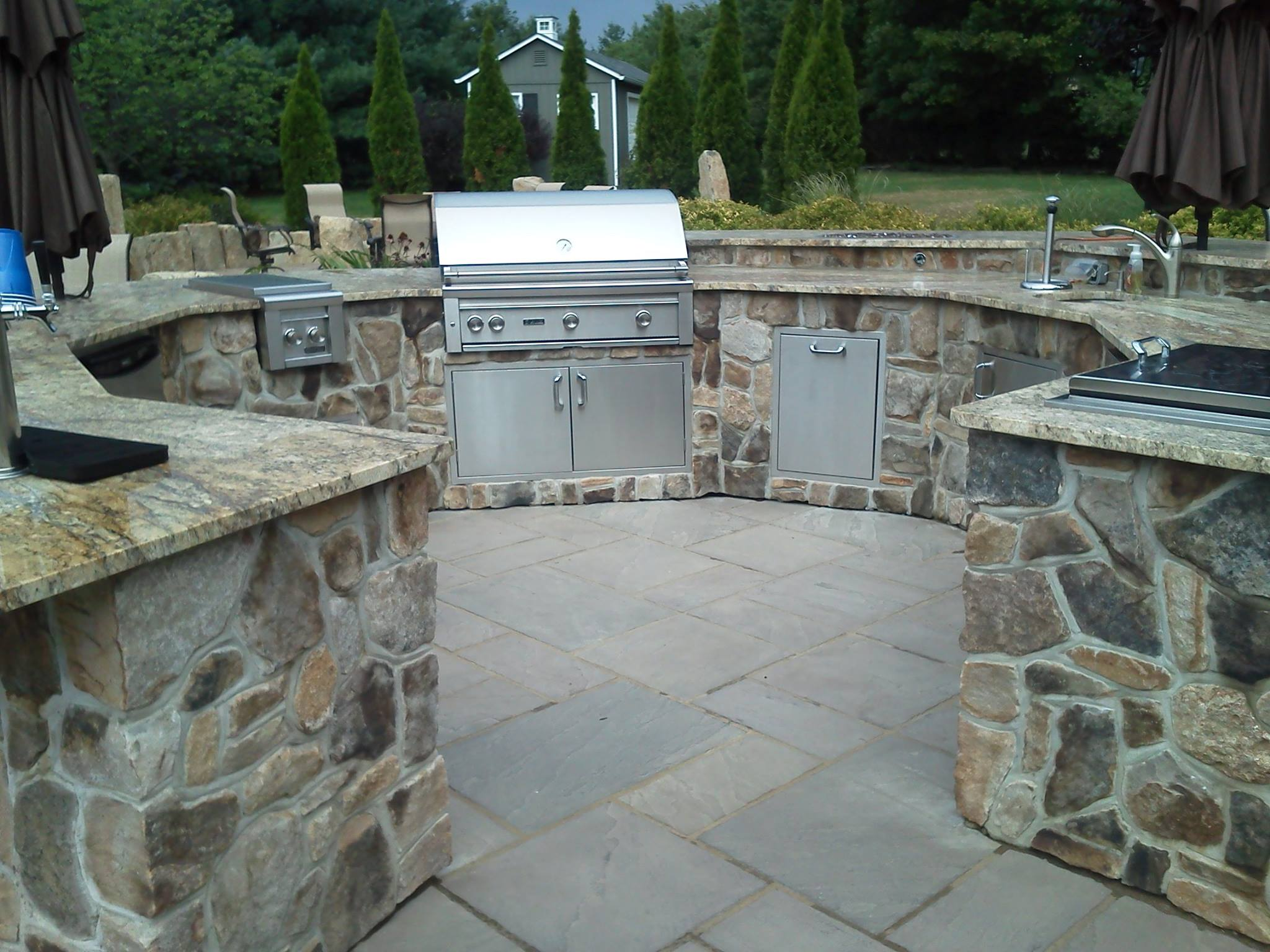 Custom Outdoor Kitchen Installation - Chester NJ