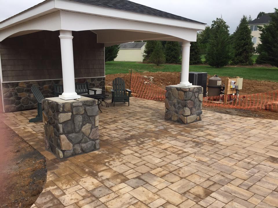 Custom Outdoor Patio - Stewartsville, New Jersey
