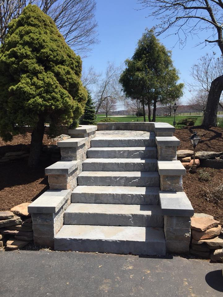 Paver Stairs Chester NJ