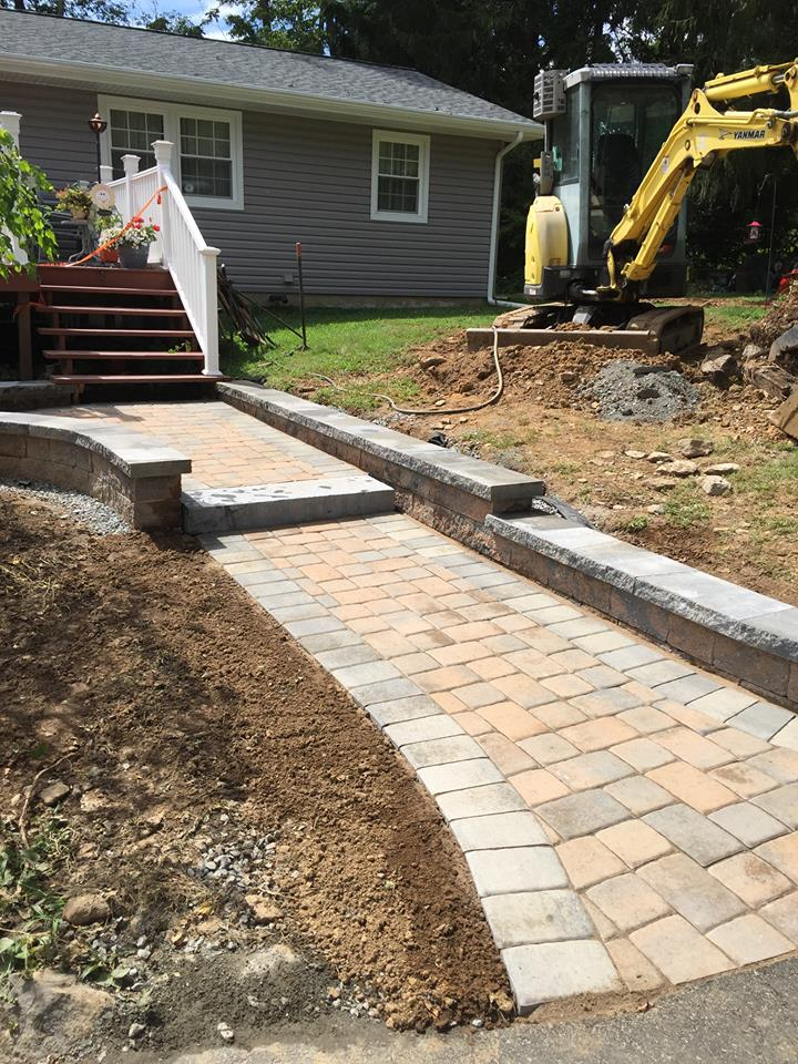 Paver Walkway After – Flanders NJ