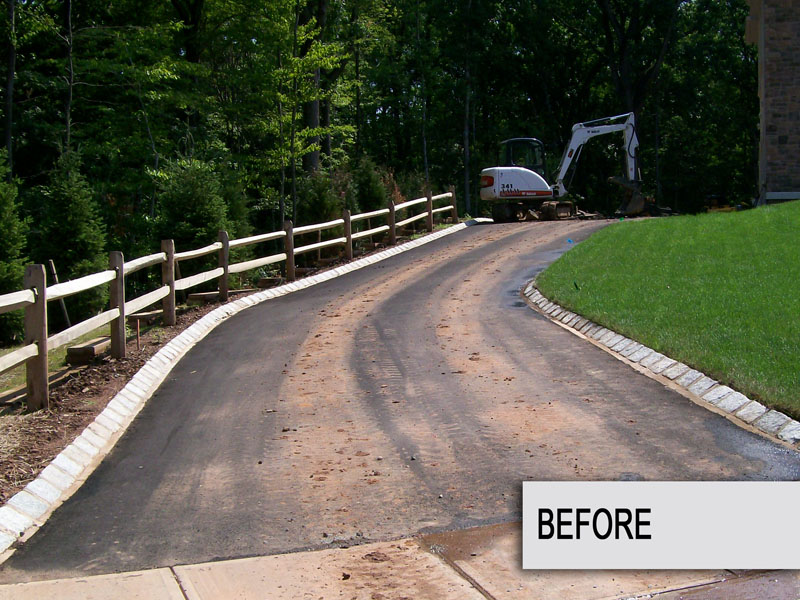 Custom Paver Driveway Installation, Chester NJ