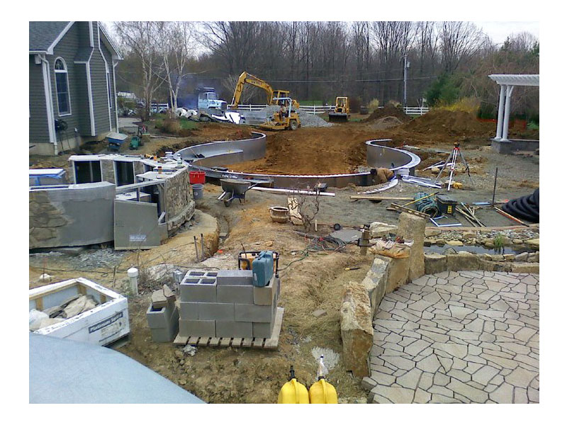 Hardscape Construction Site, Flanders NJ