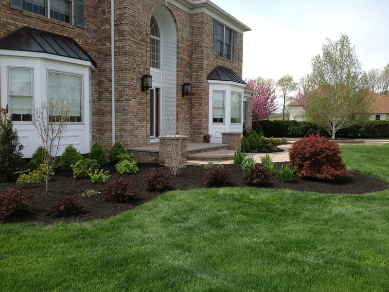 Custom Landscape Installation, Chester New Jersey