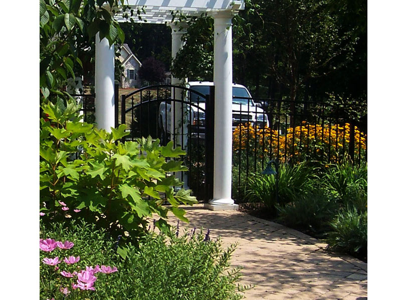 Landscape Archway Install, Flanders NJ