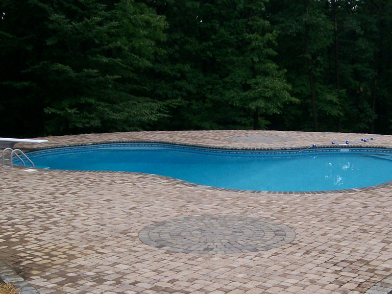 Outdoor Poolscape, Roxbury NJ