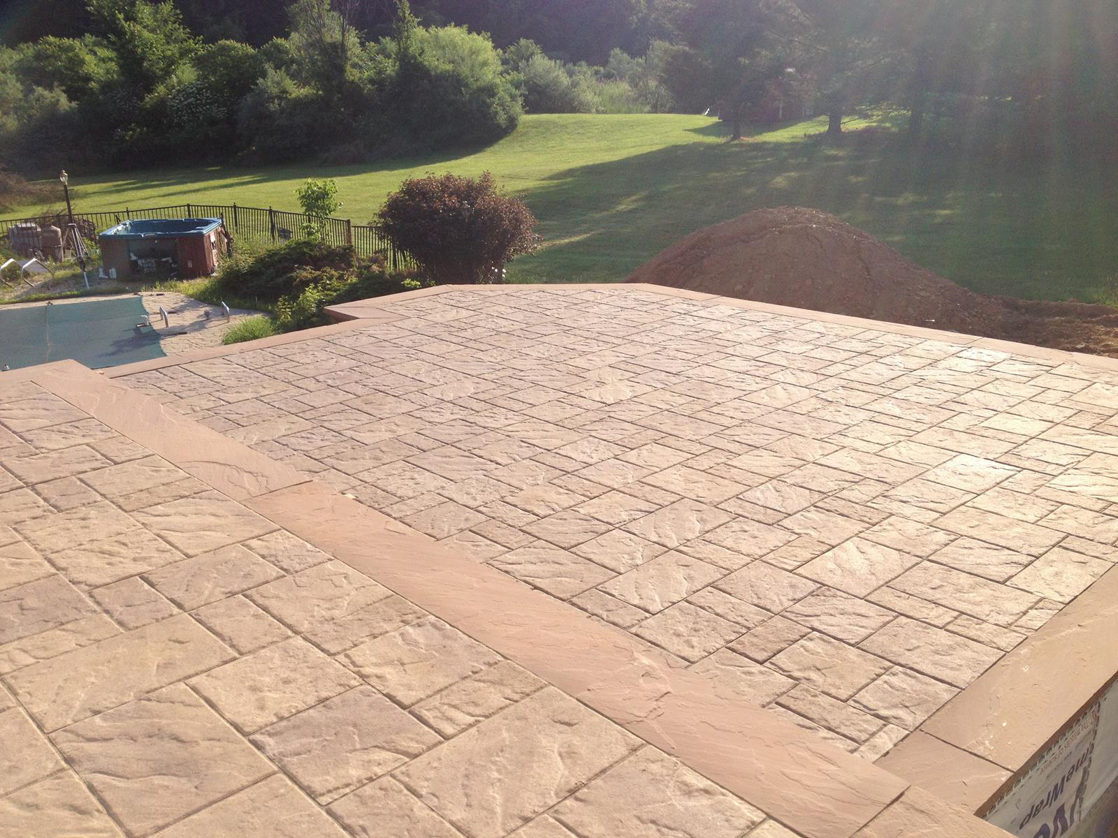 Paver Patio, Mount Olive New Jersey