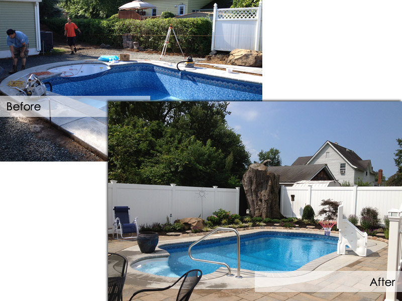 Poolscape, Mount Olive New Jersey