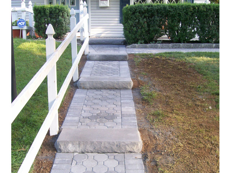 Stairs and Walkway, Long Valley New Jersey