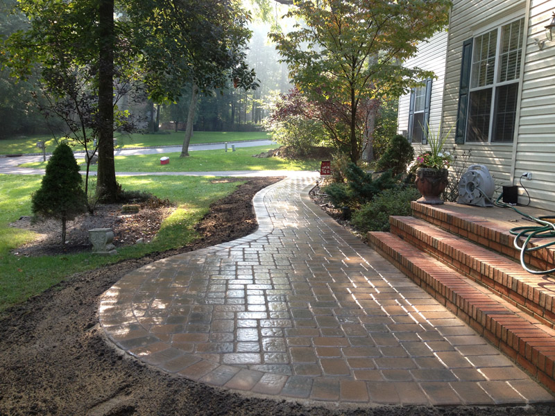 Paver Walkway, Chester New Jersey