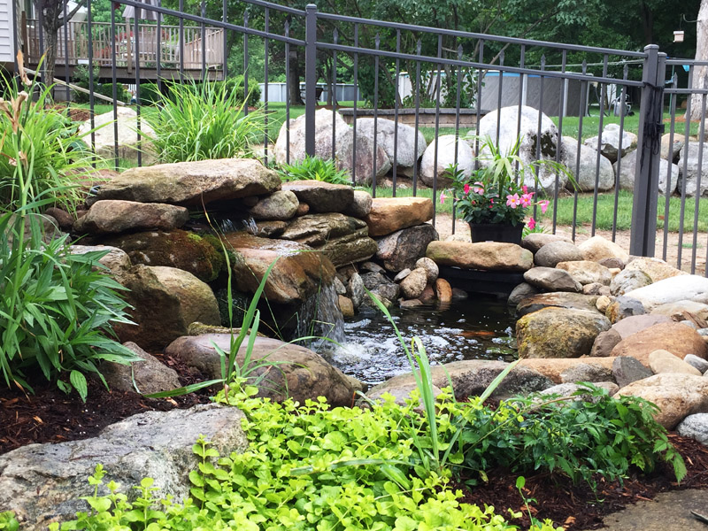 Water Feature, Randolph New Jersey