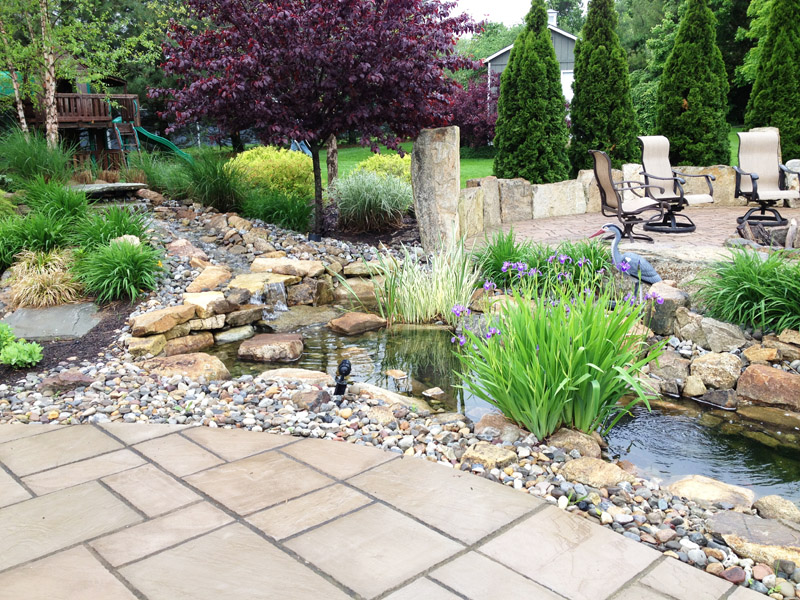 Custom Waterfall, Flanders New Jersey