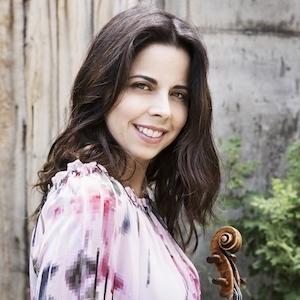 Simin Ganatra violin
